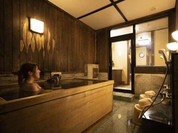 <貸切風呂>無料六点付きプランも多数ご用意しています