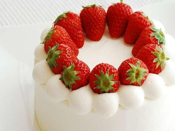 【お客様の声より】4種類から選べるケーキ♪当日の御予約でも対応OK!特典いろいろ記念日プラン