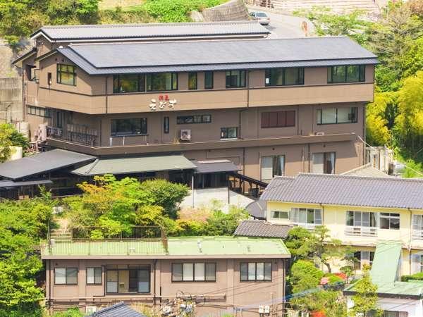 12種の湯処が楽しめるお宿 ゑびす屋旅館の外観