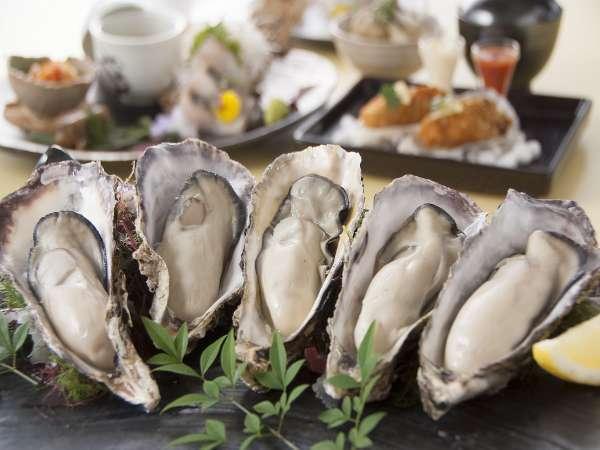 ≪十二月〜三月≫ 焼き牡蠣食べ放題付コースを『和Dining 梅浪漫』で堪能♪二食付 【リニューアルルーム】