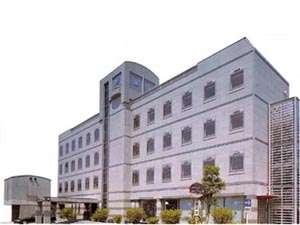 ホテルラクーネ島田の外観
