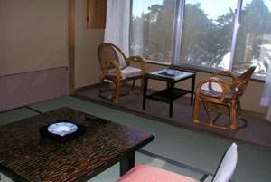 【三四郎島が正面・海一望和室】お部屋からは海を一望いただけます