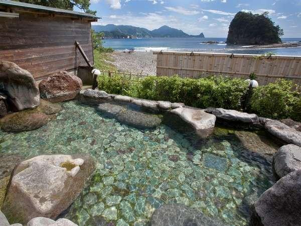 渚の露天風呂(女性)