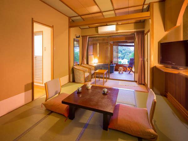 2階海側露天風呂付客室