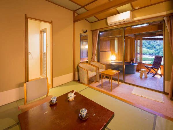 ☆2階海側露天風呂付客室(一例)