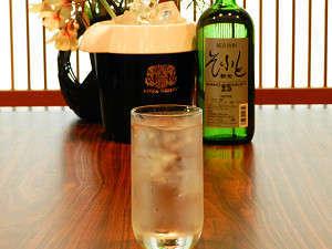 夏のカップルには秋田の焼酎「そふと新光」がお部屋でゆっくり飲み放題♪