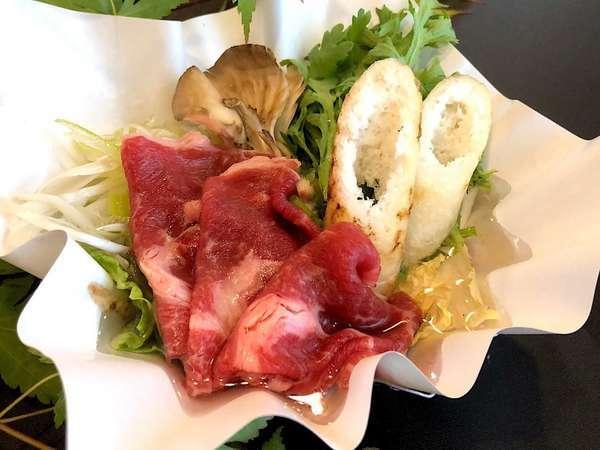 田沢湖牛とキリタンポすき焼き