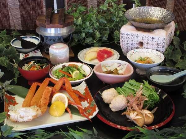 ズワイガニ付和食膳1