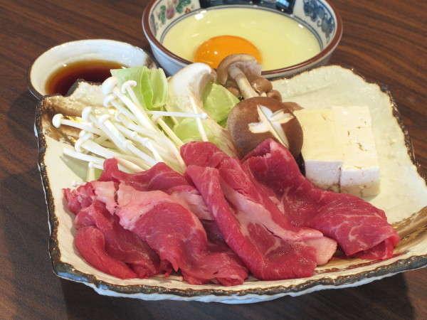 秋田錦牛すき焼き