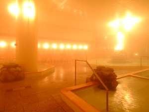 ヒバの温もり溢れる千勝の湯(大浴場)