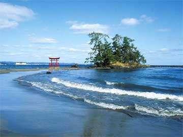 千枚田 パワースポット♪「聖域の岬」は断崖絶壁!スリル満点、海流でパワーチャージ