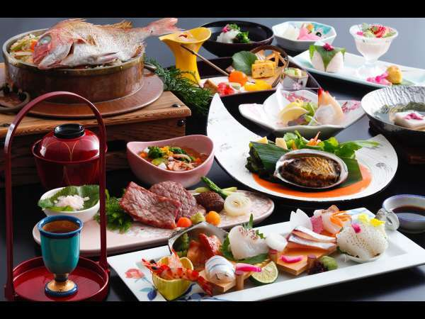 ★【お部屋食・特選】和食文化の極み・本格会席 〜笙〜