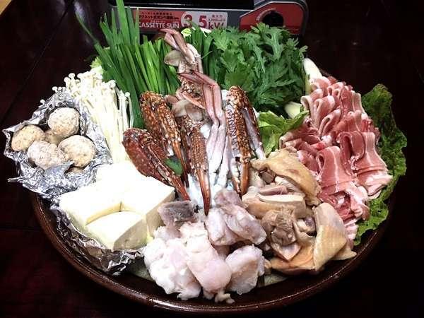 【九州ありがとうキャンペーン】【1泊夕食付】2種類のスープから選べるお部屋で鍋プラン