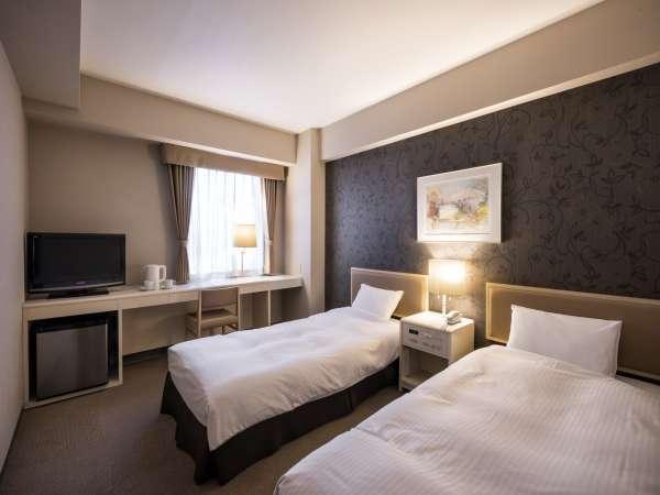 ◆ツインルーム◆ご家族やご友人同士でのご利用に人気のお部屋です。