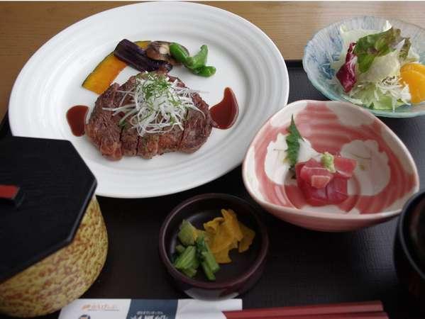 【平日限定】ビジネスプラン<2食付>夕食は【和風ステーキ膳】を用意♪大浴場でリラックス・駐車場無料