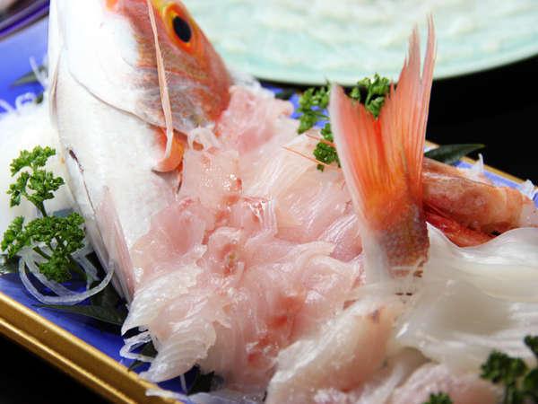その日水揚げされた新鮮な魚介類をご堪能ください+゜