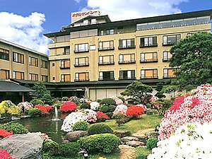 ホテルサンバレー伊豆長岡の外観