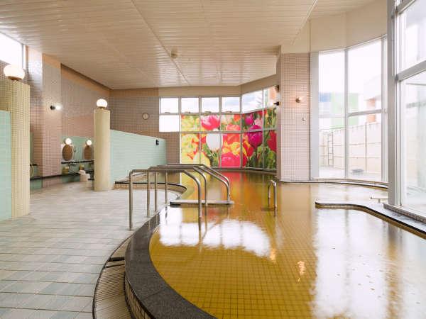 温泉施設「ゆりかご」大浴場