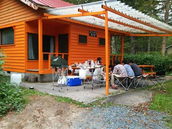 菅沼キャンプ村の外観