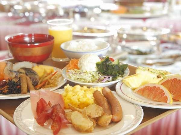 【朝食】和食・洋食からお好きなものをお好きなだけ♪