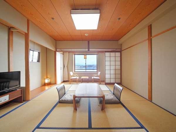 【部屋】湖側和室8畳◆28平米/喫煙