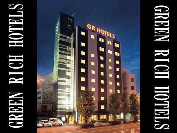 ジーアールホテル銀座通の外観