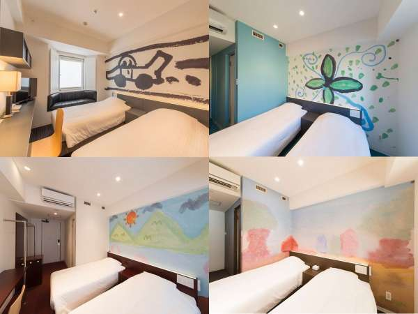 ◆素泊りスタンダード◆圧巻!全客室の世界観がそれぞれ異なるお部屋 未就学児添い寝無料