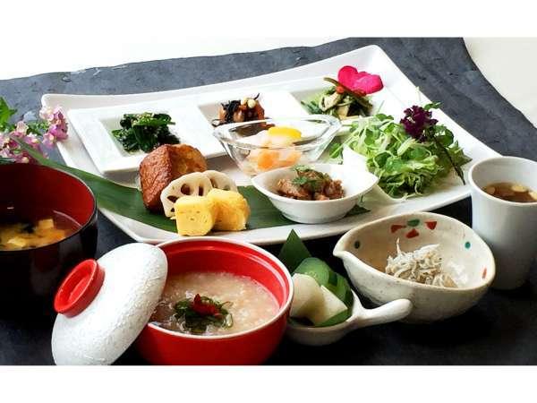 【朝食付き】からだを元気にする旬な野菜のおいしい薬膳朝食☆