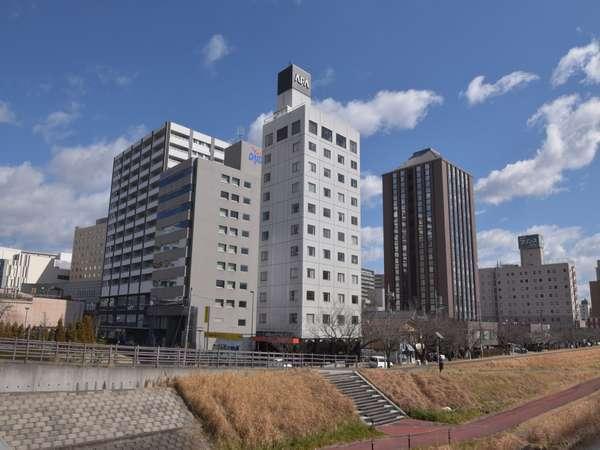アパホテル<水戸駅前>の外観
