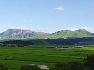 阿蘇五岳を一望