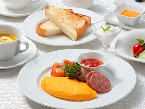 【洋朝食】オムレツにスクランブルエッグなど、選べる「できたて卵料理」が人気♪