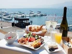 【平日限定】地元の食材を使った「こだわりの朝食」 琵琶湖の眺望を見渡しながら「特別なひとときを」