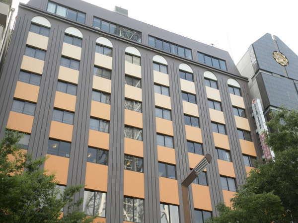 ホテルエコノ名古屋栄の外観