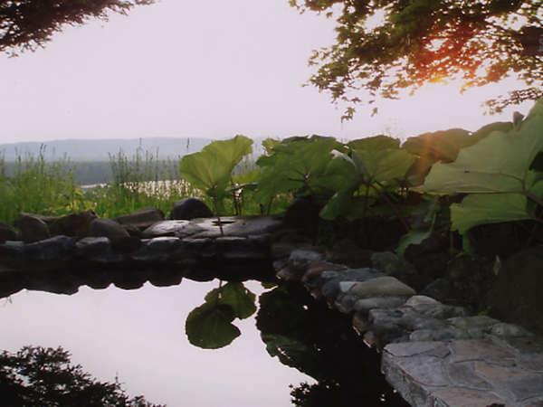 露天風呂/釧路湿原とシラルトロ湖を一望できる展望露天風呂