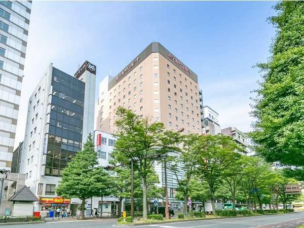 ホテルサンルート川崎の外観