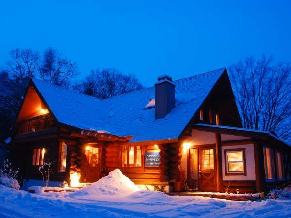 岡山ひるぜん貸別荘 雪あかり&クリスマスコテージの外観