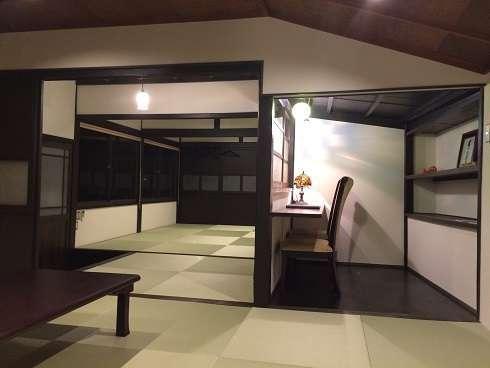 Sakuraの間室内デスクの付いた スタディールームがあり、ここで読書や宿題もできます。