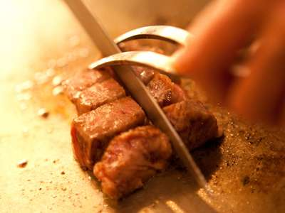 【鉄板焼 椿コース】黒毛和牛と大分産海鮮
