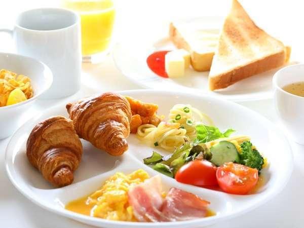 朝食盛り付け イメージ