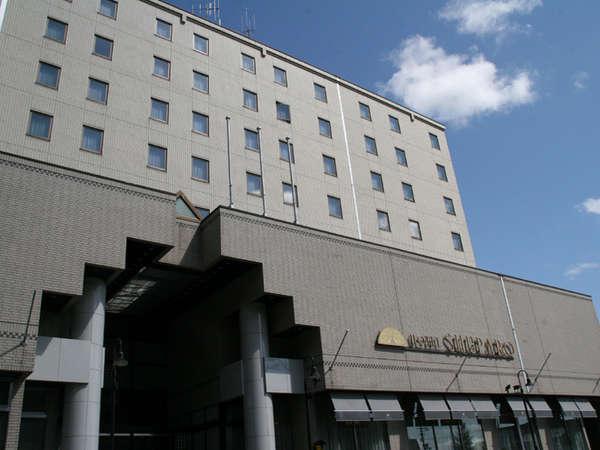 ゆうばりホテルシューパロの外観
