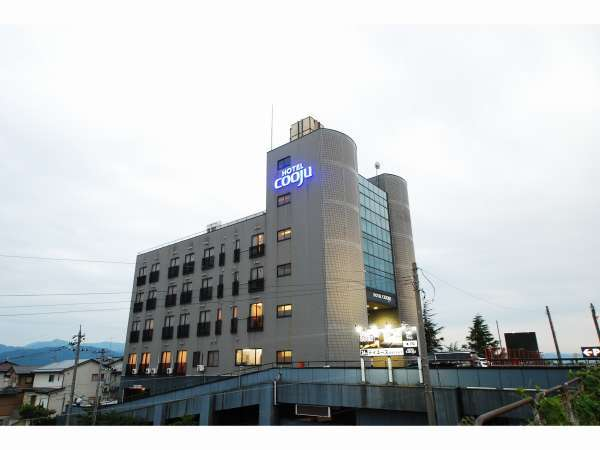 HOTEL cooju fukuiの外観