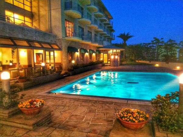 ホテル ラ シェネガの外観