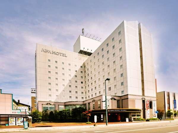 アパホテル<帯広駅前>の外観