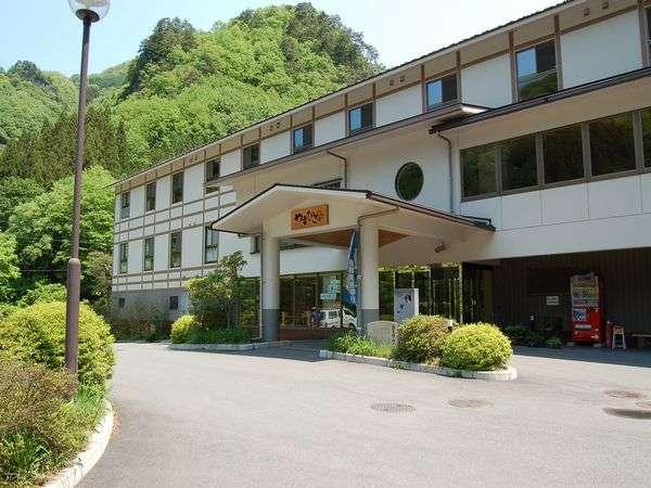 上野村温泉郷 やまびこ荘の外観