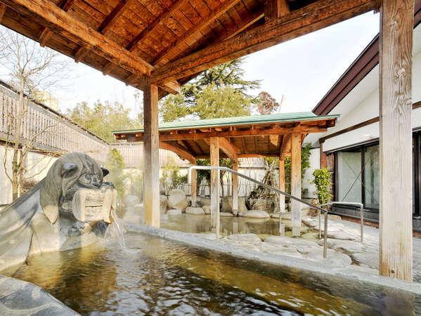 *【露天風呂】黒獅子の露天風呂