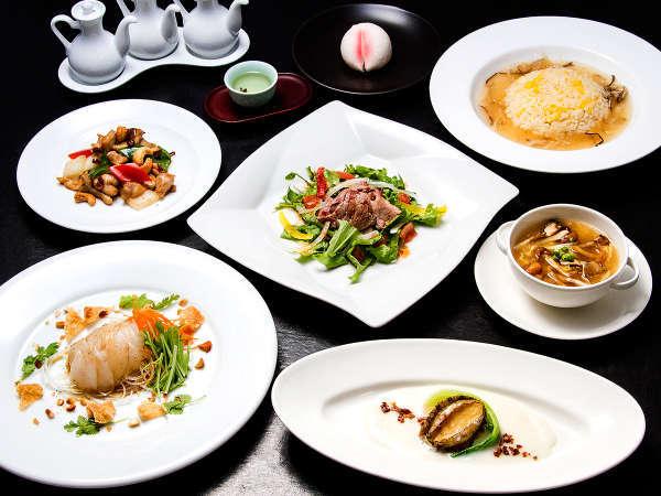 【2食付】地元の食材をたっぷり使った本格中華料理と温泉を満喫♪