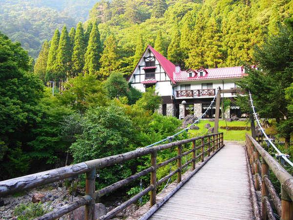 森の国ホテルの外観