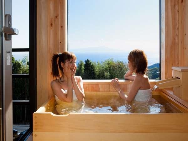天然温泉で気兼ねのない湯浴みをいつでも・・・