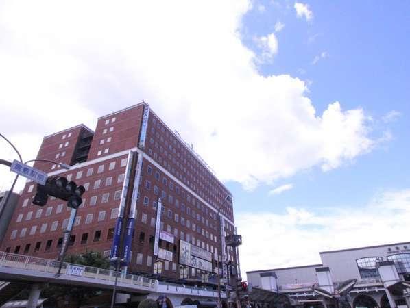 アパホテル<倉敷駅前>の外観
