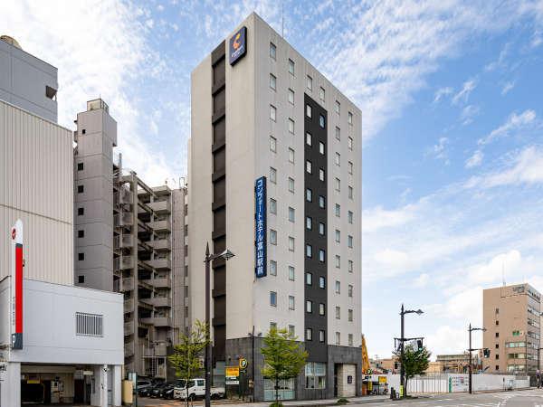 JR富山駅より徒歩2分!